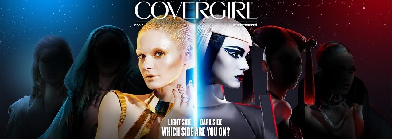 """Linha de maquiagens da COVERGIRL inspirada em """"Star Wars"""""""