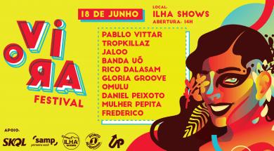 O VIRA: Dez horas de música em festival capixaba, venha conhecer as atrações!